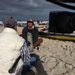 Interview mit Philip Köster, Deutschlands erster Windsurf-Weltmeister. Sylt, September 2014