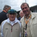 Jackie Stewart, 3 maliger Formel-1 Weltmeister mit Matra 1969 und Tyrell 1971 und 1973. Le Mans, Juni 2011