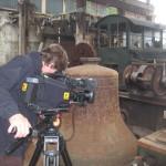 Dreharbeiten in Jesenice/Slowenien, Januar 2011