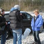 """Dreharbeiten Dokumentation """"Was wurde aus Jutta Kleinschmidt?"""" für ServusTV. Die Wüstenqueen ist die einzige Frau, die bisher die Rallye Dakar gewonnen hat."""