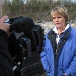 """Dreharbeiten Dokumentation """"Was wurde aus Jutta Kleinschmidt?"""" Die Königin der Wüste gewann 2001 die härteste und gefährlichste Rallye der Welt, die legendäre Rallye Dakar. April 2012"""