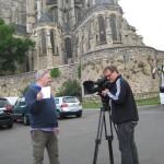 Axel Martin und Kai Glawe, Dreharbeiten 24 Stunden von LeMans/Frankreich Juni 2011