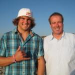 Philip Köster, Windsurf-Weltmeister in der Disziplin Wellenreiten. Der 17 jährige ist der erste deutsche Weltmeister im Windsurfen. Sylt, September 2011