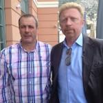 Boris Becker, Tennis-Legende, Olympiasieger im Doppel mit Michael Stich 1992 in Barcelona, 3-maliger Wimbledongewinner und ehemalige Nr. 1 der Tennis-Weltrangliste. Monte Carlo, Mai 2013